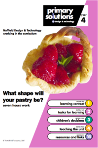 Front Cover for y4 Pastry Unit